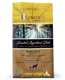 Canadian Naturals Potato and Duck Formula
